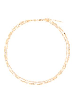 首图 - 点击放大 - MISSOMA - FILLE双层几何链条造型项链