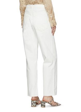 背面 - 点击放大 - AGOLDE - 不对称裤腰纯棉阔腿牛仔裤