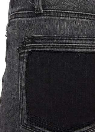 - FRAME DENIM - LE HIGH STRAIGHT拼色口袋牛仔裤
