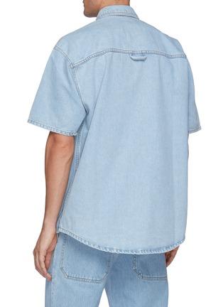 背面 - 点击放大 - NANUSHKA - AVERY牛仔短袖衬衫