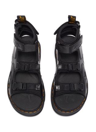 细节 - 点击放大 - SUICOKE - X DR MARTENS Boak插扣搭带真皮凉鞋