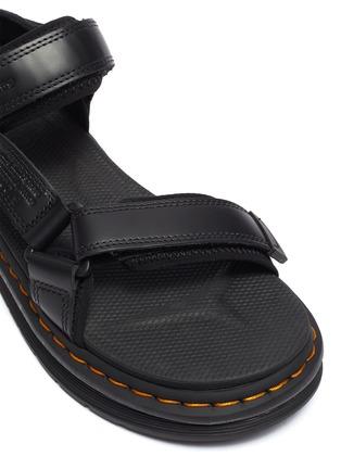 细节 - 点击放大 - SUICOKE - X DR MARTENS Depa搭带真皮凉鞋