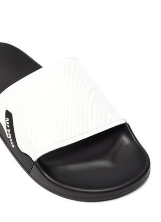 细节 - 点击放大 - RAF SIMONS - ASTRA拼色拖鞋