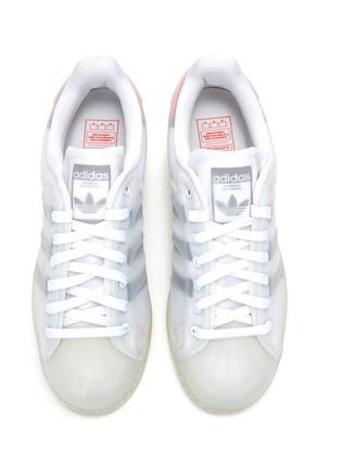 模特儿示范图 - 点击放大 - ADIDAS - SUPERSTAR FUTURESHELL运动鞋