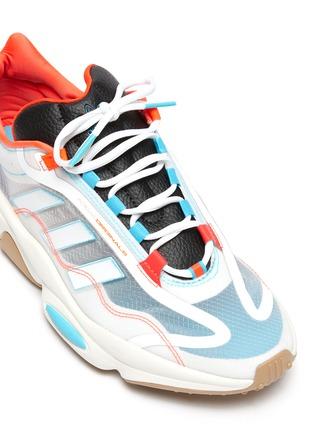 细节 - 点击放大 - ADIDAS - OZWEEGO PURE网眼系带运动鞋
