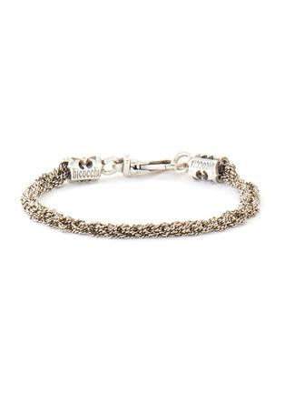 首图 - 点击放大 - EMANUELE BICOCCHI - 编织链条造型纯银手链