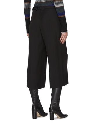 背面 - 点击放大 - PETAR PETROV - GENEVA混丝阔腿露踝裤