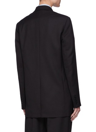 背面 - 点击放大 - THE ROW - 单排扣平驳领混初剪羊毛西装外套
