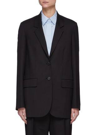 首图 - 点击放大 - THE ROW - 单排扣平驳领混初剪羊毛西装外套