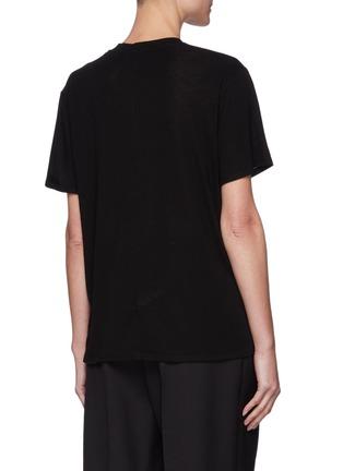 背面 - 点击放大 - THE ROW - 混天丝及羊绒T恤