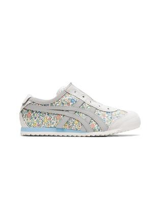 首图 - 点击放大 - ONITSUKA TIGER - MEXICO 66儿童款交叉条纹标志花卉图案帆布运动鞋