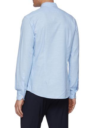 背面 - 点击放大 - BARENA - NACI小立领纯棉长袖衬衫