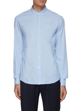 首图 - 点击放大 - BARENA - NACI小立领纯棉长袖衬衫