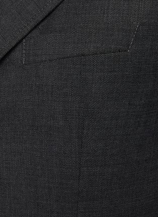 - BARENA - PIERO平驳领初剪羊毛西服外套