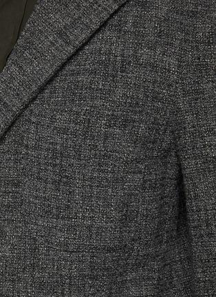 - BARENA - Torceo混初剪羊毛针织西服外套