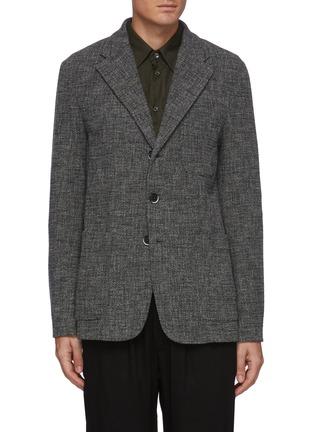 首图 - 点击放大 - BARENA - Torceo混初剪羊毛针织西服外套