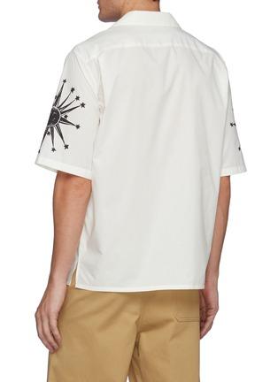 背面 - 点击放大 - ALEXANDER MCQUEEN - 版画图案古巴领衬衫