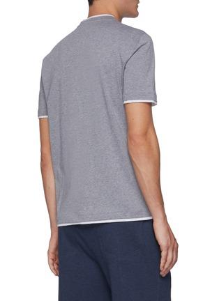 背面 - 点击放大 - BRUNELLO CUCINELLI - logo纯棉T恤