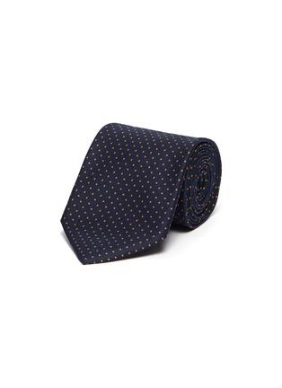 首图 - 点击放大 - STEFANOBIGI MILANO - NILO 36波点印花真丝领带