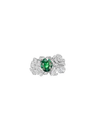 首图 - 点击放大 - CENTAURI LUCY - Hobbema霍贝玛钻石沙弗莱石18k白金戒指
