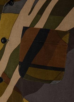 - SACAI - X KAWS印花短袖衬衫