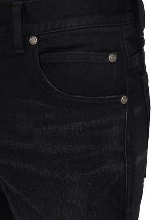 - BALMAIN - 刺绣LOGO牛仔裤