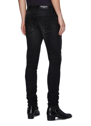 背面 - 点击放大 - BALMAIN - 刺绣LOGO牛仔裤