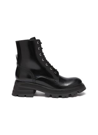 首图 - 点击放大 - ALEXANDER MCQUEEN - WANDER系带战斗靴