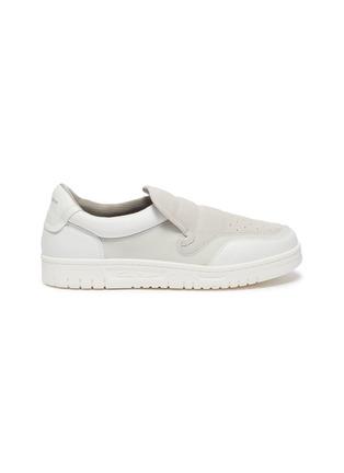 首图 - 点击放大 - ACNE STUDIOS - BULLER品牌名称拼接绒面真皮便鞋