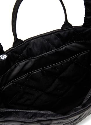 细节 - 点击放大 - ACNE STUDIOS - 绗缝夹棉托特包