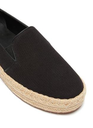 细节 - 点击放大 - VINCE - UPTON帆布便鞋