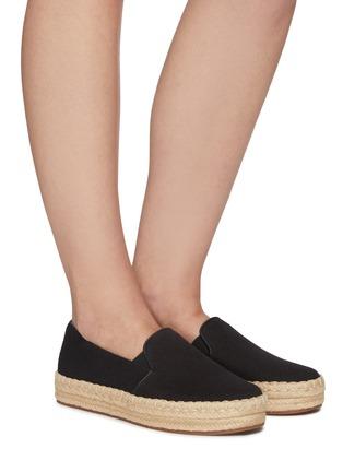 模特儿示范图 - 点击放大 - VINCE - UPTON帆布便鞋