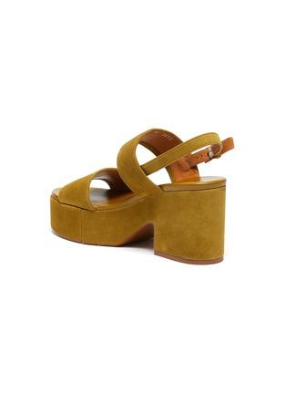 - CLERGERIE - CORA双搭带绒面皮高跟鞋