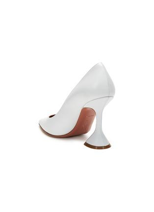 细节 - 点击放大 - AMINA MUADDI - AMI真皮高跟鞋