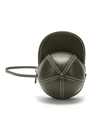 首图 - 点击放大 - JW ANDERSON - NANO CAP帽子造型小牛皮斜挎包