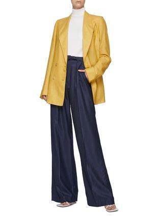 模特儿示范图 - 点击放大 - GABRIELA HEARST - MAY高领混羊毛针织衫