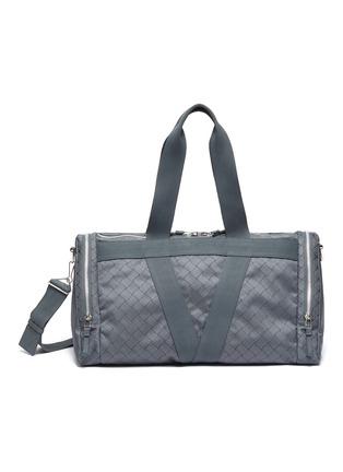 首图 - 点击放大 - BOTTEGA VENETA - 编织图案健身包