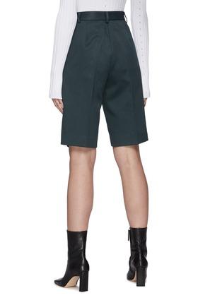 背面 - 点击放大 - MAISON MARGIELA - 高腰褶间西服短裤