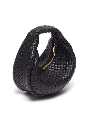 细节 - 点击放大 - BOTTEGA VENETA - MINI HOBO交叠编织真皮手提包