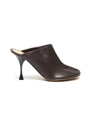 首图 - 点击放大 - BOTTEGA VENETA - DOT SOCK真皮高跟穆勒鞋