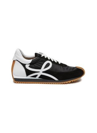 首图 - 点击放大 - LOEWE - 拼接设计LOGO小牛皮运动鞋