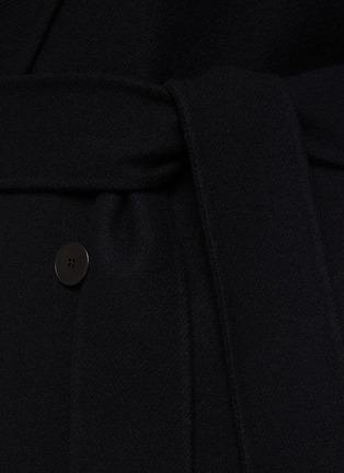 - THE ROW - FERRO青果领双排扣腰带大衣