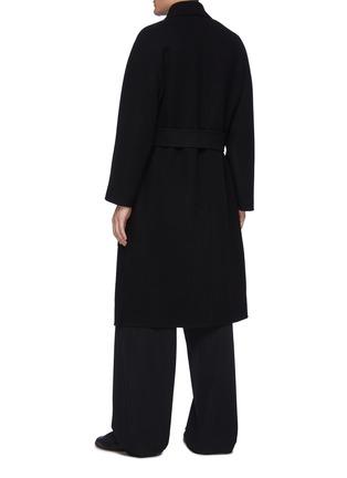 背面 - 点击放大 - THE ROW - FERRO青果领双排扣腰带大衣