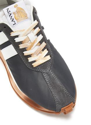 细节 - 点击放大 - LANVIN - BUMPR拼色厚底运动鞋
