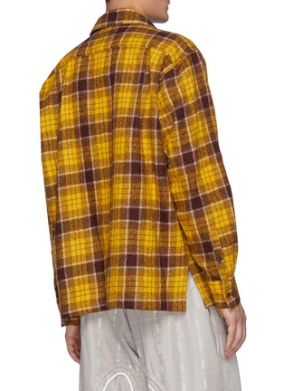 背面 - 点击放大 - DOUBLET - 玩偶缀饰羊毛格纹衬衫