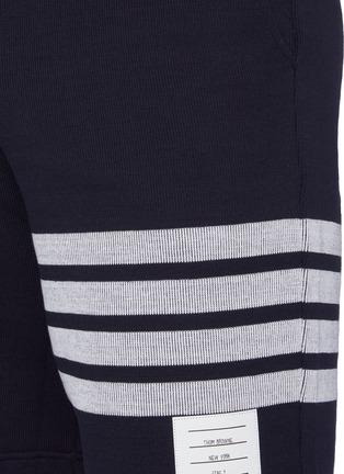 - THOM BROWNE - 四重条纹纯棉短裤