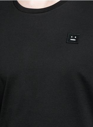 细节 - 点击放大 - ACNE STUDIOS - Standard face表情徽章纯棉T恤
