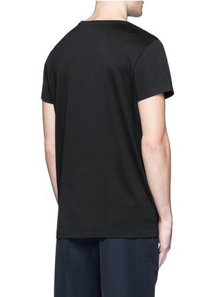 背面 - 点击放大 - ACNE STUDIOS - Standard face表情徽章纯棉T恤