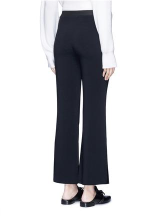 背面 - 点击放大 - HELMUT LANG - 弹性绉绸喇叭裤