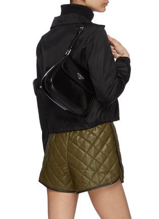 正面 -点击放大 - PRADA - CLEO翻盖口袋真皮单肩包